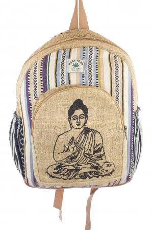 Rucsac din canepa si bumbac - Buddha 3 [0]