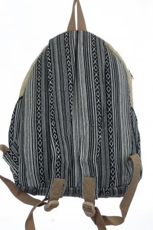 Rucsac din canepa si bumbac - Budha Stripes [4]