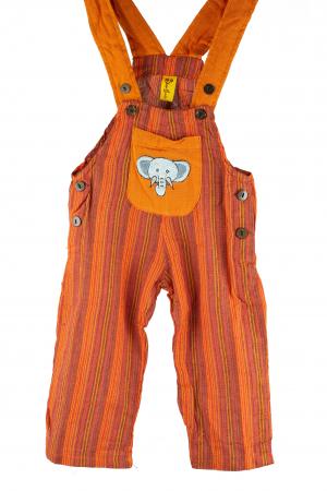Salopeta colorata de copii - Elefant M110