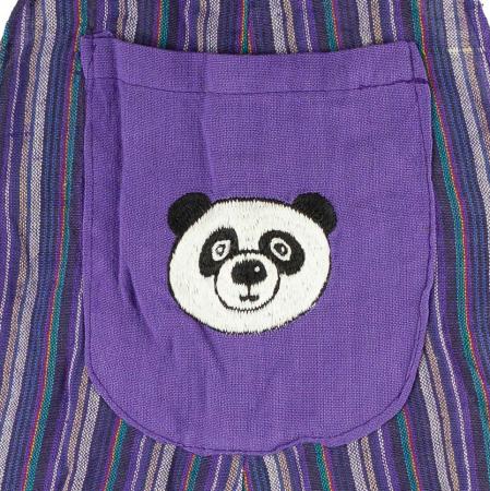 Salopeta colorata de copii - Panda M221