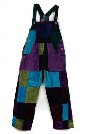 Salopeta de copii - Multicolor - Model 10