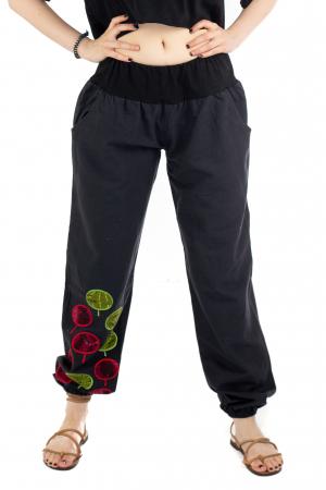 Pantaloni cu talie elastica - Mushroom [0]