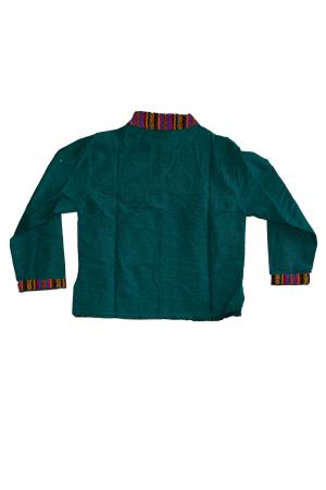 Set salvari si bluza pentru copii - Turcoaz2