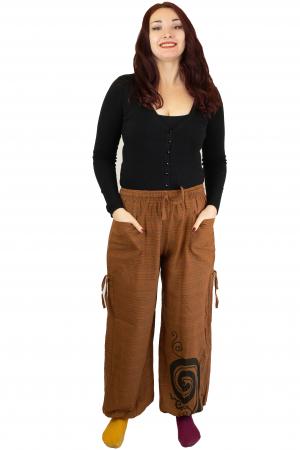 Pantaloni in dungi - Spirala - Maro1