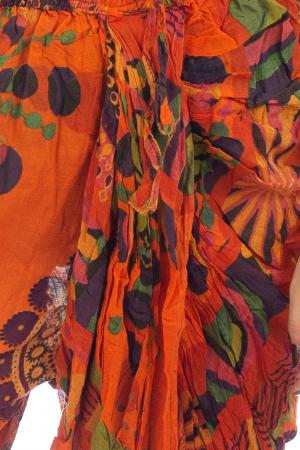 Salvari in stil Ghandi - Model 3 portocaliu1