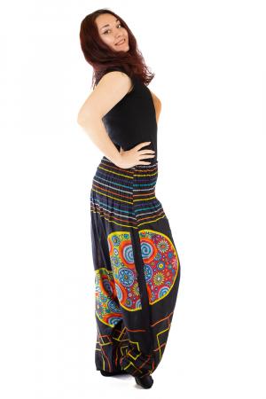 Salvari pentru femei cu banda multicolora lata2