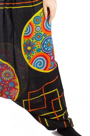 Salvari pentru femei cu banda multicolora lata6