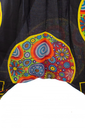 Salvari pentru femei cu banda multicolora lata5