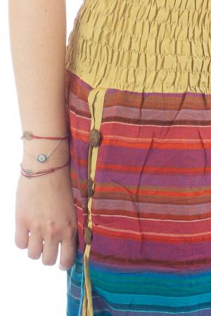 Salvari subtiri multicolor cu 3 nasturi - Model 53 - CT35 [3]