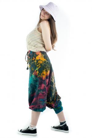 Salvari Tie-Dye din bumbac - Hawaii [4]