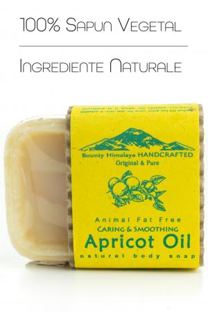Sapun Handmade Vegetal - Apricot Oil [1]
