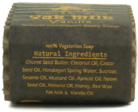 Sapun Handmade Vegetal - Yak Milk - Vanilla [3]