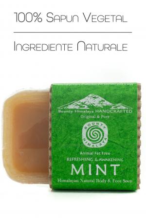 Sapun Handmade Vegetal - Mint [1]