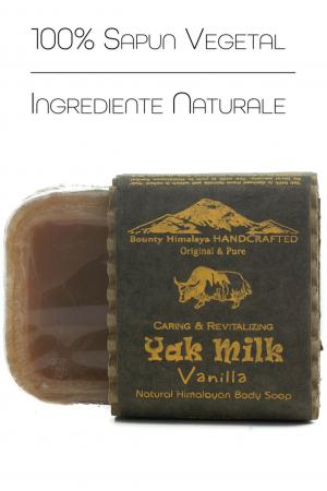 Sapun Handmade Vegetal - Yak Milk - Vanilla [1]