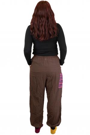 Pantaloni tip salvar cu banda - Maro3
