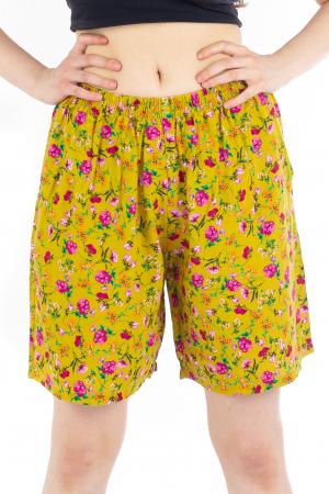 Pantaloni scurti - Elemente florale [0]