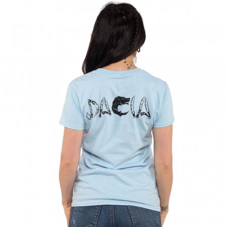 Tricou albastru de dama - DACIA1