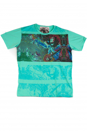 Tricou Bob Marley - Verde - Marimea M [0]