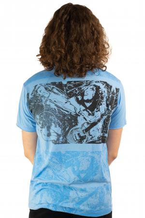 Tricou Bob Marley - Blue Lion - Marime M [2]