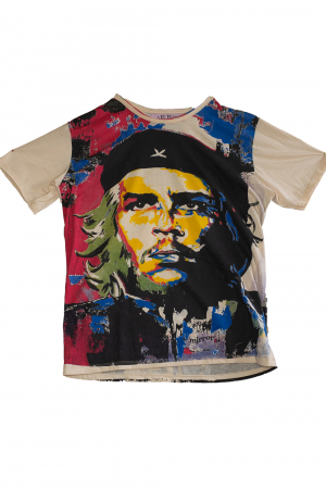 Tricou Hippie Revolution - Crem - Marime XL0