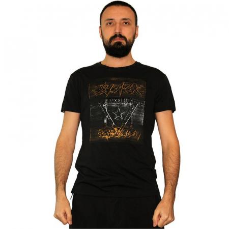Tricou Streetwear 5M-2232 NEGRU0