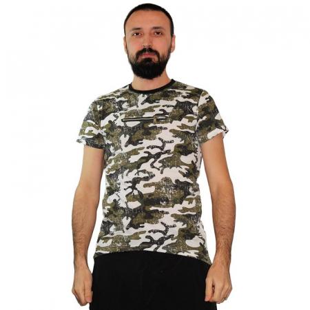 Tricou Streetwear HM-5790 GRAY0