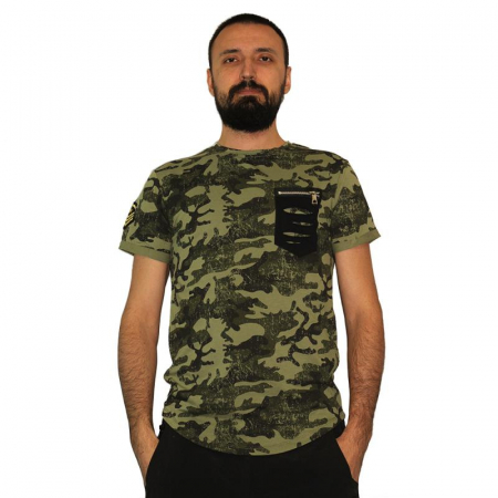 Tricou Streetwear HM-5792 GREEN0