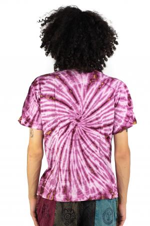 Tricou Tie-Dye - Roz - Model 10 [4]
