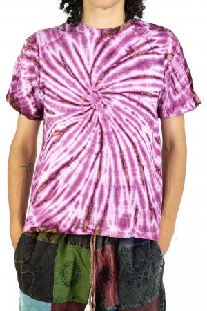 Tricou Tie-Dye - Roz - Model 10 [0]