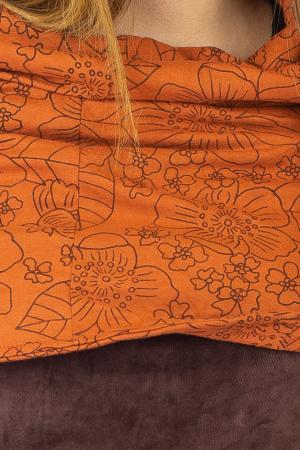 Tunica din catifea - Maro [1]