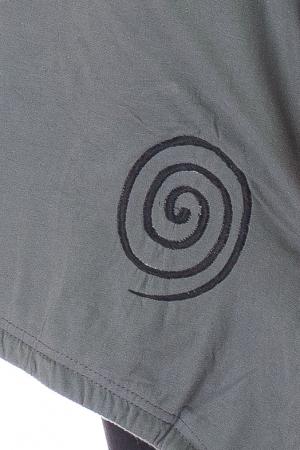 Tunica asimetrica din bumbac - Spirala [3]
