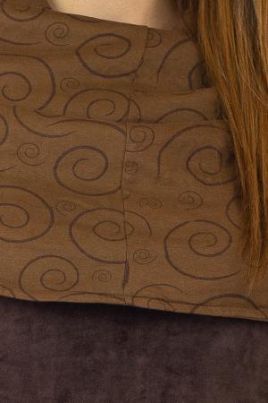 Tunica din catifea - Maro 2 [1]