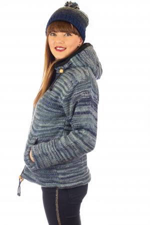 Jacheta de lana - Water Line2