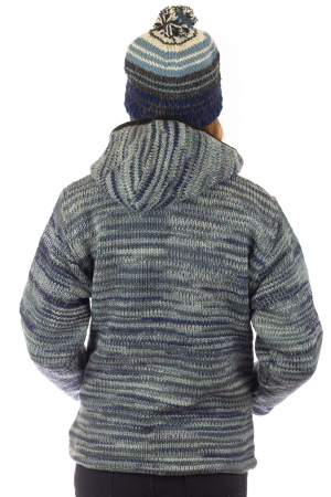 Jacheta de lana - Water Line4