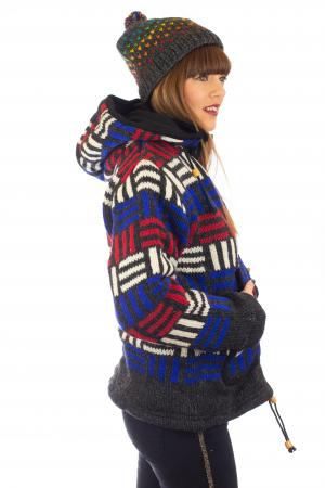 Jacheta de lana - Winter Maze [3]