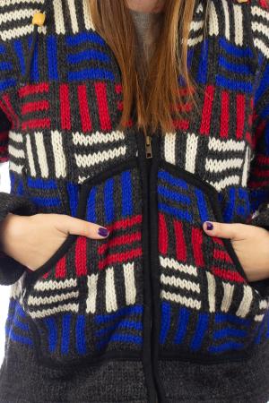Jacheta de lana - Winter Maze [1]