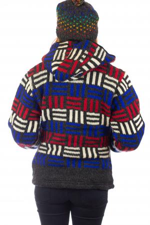 Jacheta de lana - Winter Maze [5]