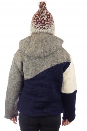 Jacheta de lana - Zig Zag3