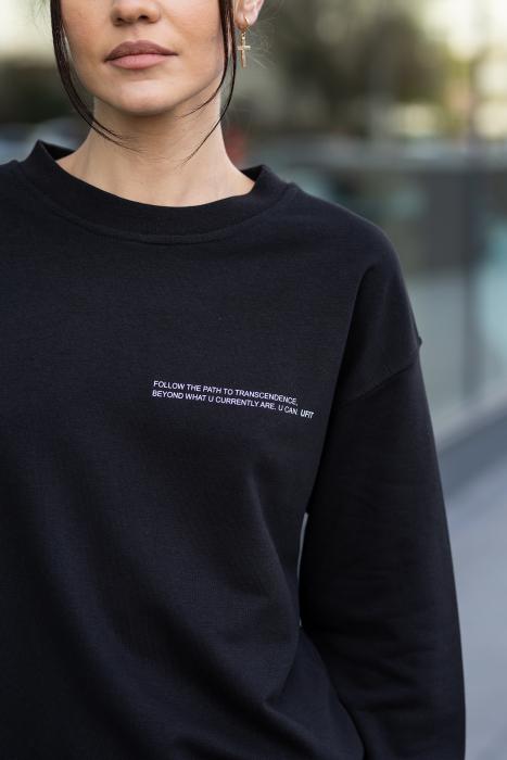 Bluza Easy-Fit Oversized Black [0]