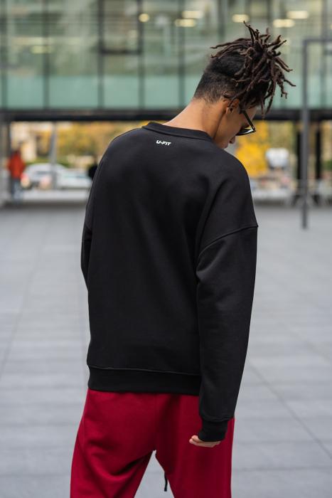 Bluza West Cartel Oversized Black [1]