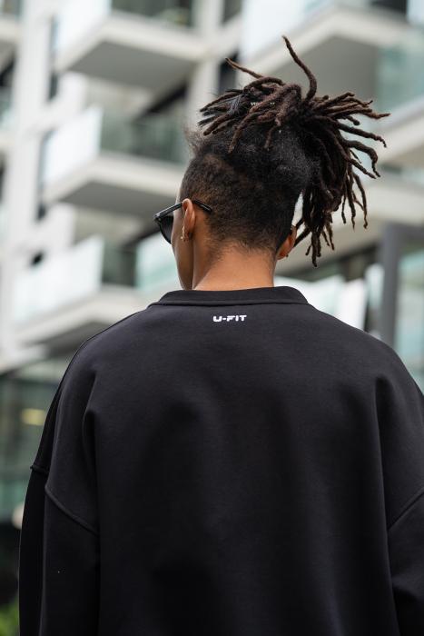Bluza West Cartel Oversized Black [3]