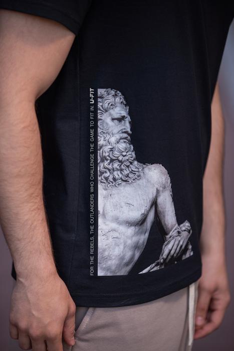 Tricou Barbati Ancient Black [3]