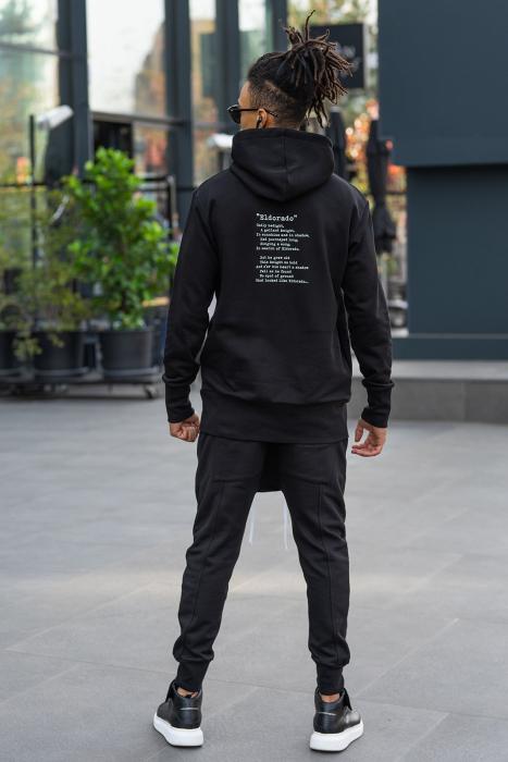 Pantalon cu turul lasat negru [5]