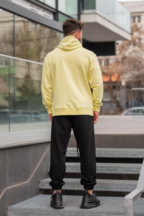 Set Rock-Fit hanorac si pantalon lejer galben/negru [3]