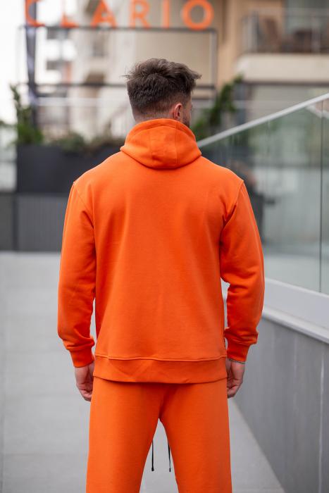 Set Rock-Fit hanorac si pantalon lejer portocaliu [2]