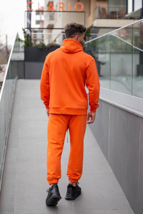 Set Rock-Fit hanorac si pantalon lejer portocaliu [3]