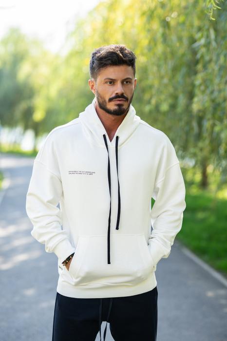 Hanorac Easy-Fit Oversized White [0]