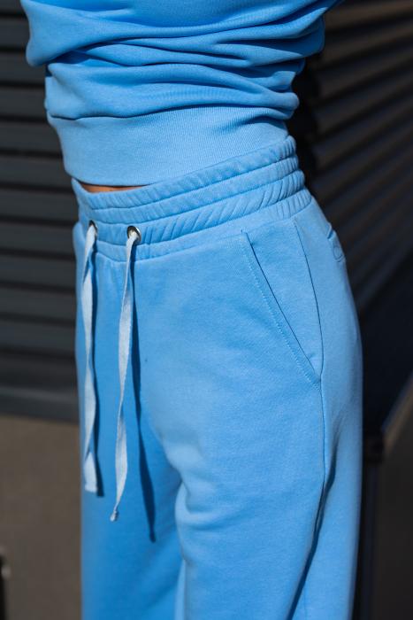 Pantalon Easy-Fit Oversized Aqua Blue [3]