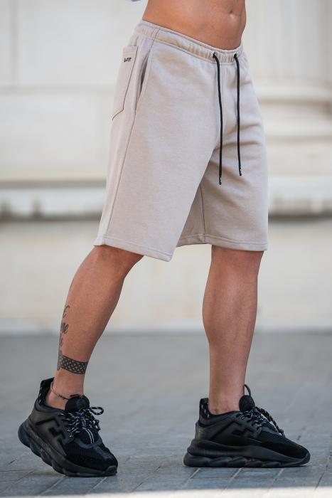 Pantalon scurt Warm Taupe [1]