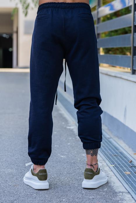 Pantalon lejer bleumarin [2]